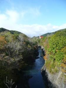 錦仙峡(滝上町)