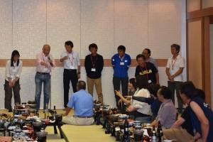 懇親会の〆をお願いした柳生会長のトークで盛り上がりました!