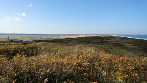 171028_小清水原生花園展覧ヶ丘から西を望む